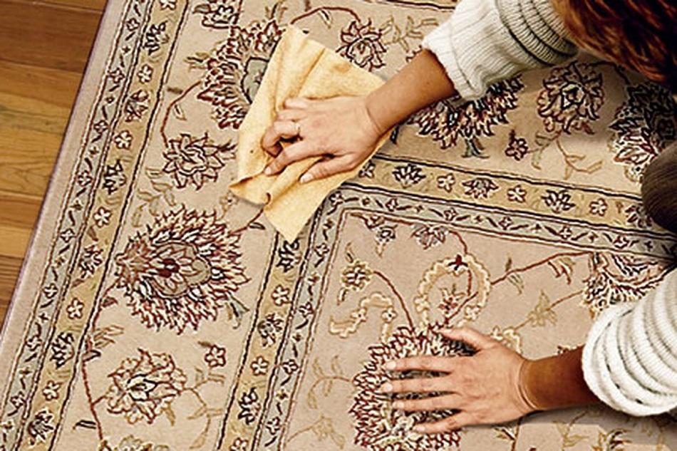 روش پاک کردن انواع لکه های فرش