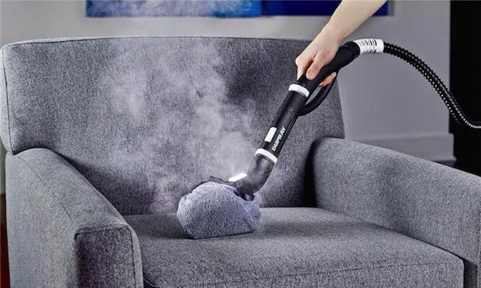 طرز استفاده از بخارشوی برای شستن مبل